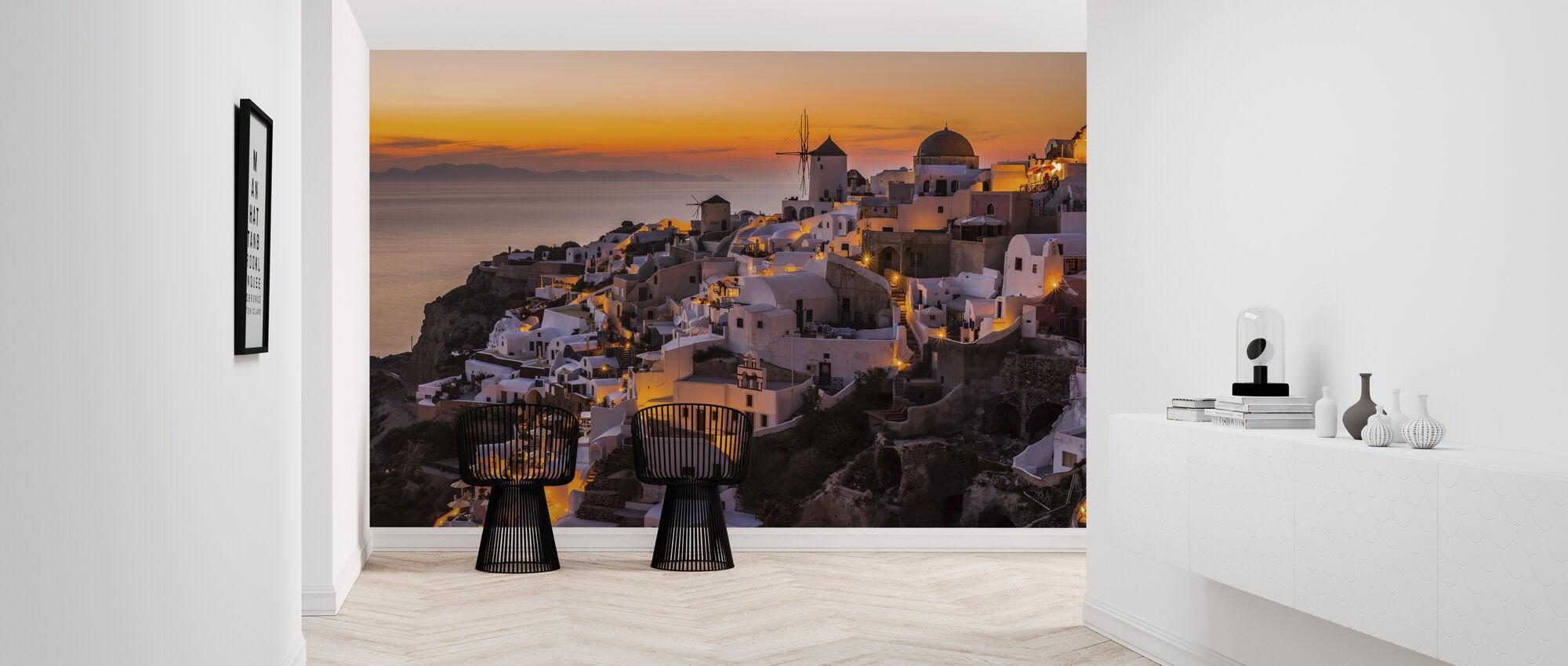 Calispera Santorini - Wallpaper - Hallway