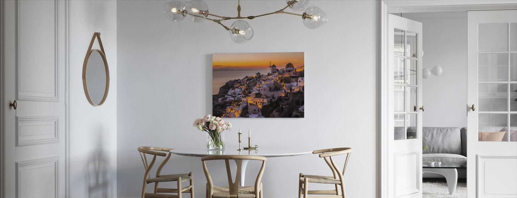 Calispera Santorini - Canvas print - Kitchen