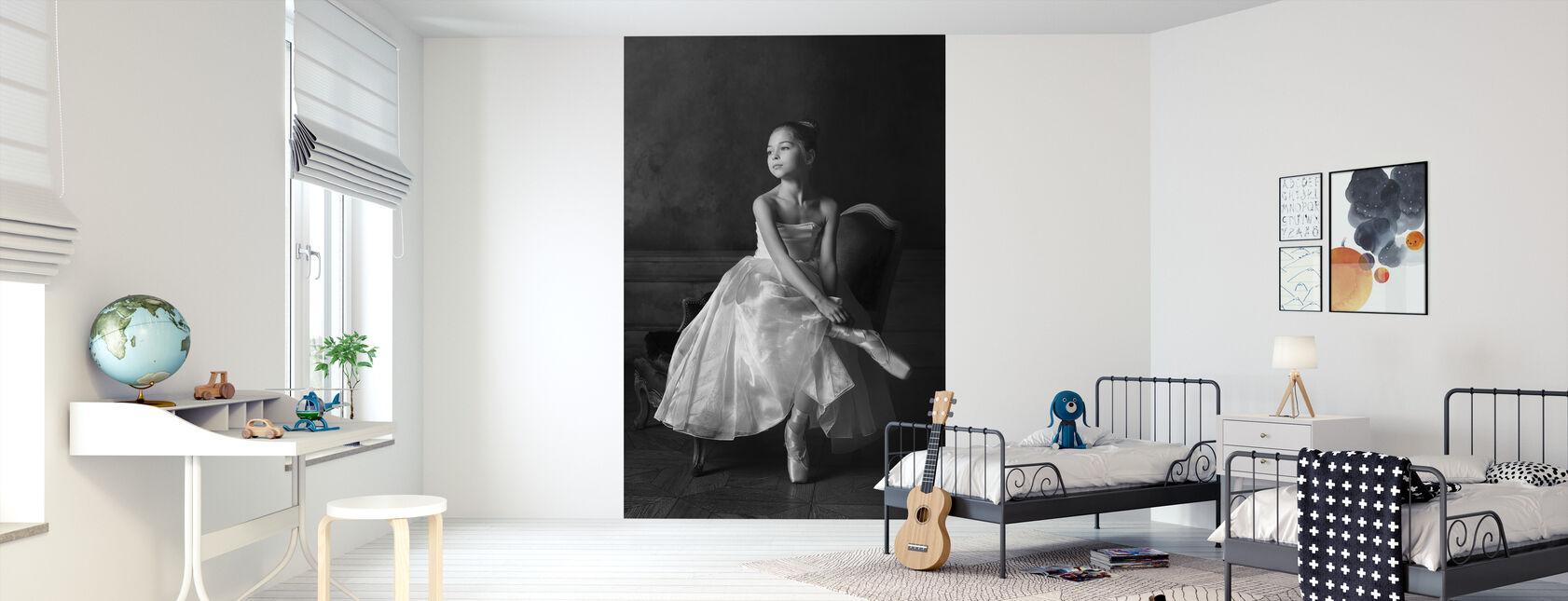 Little Ballet Star - Wallpaper - Kids Room