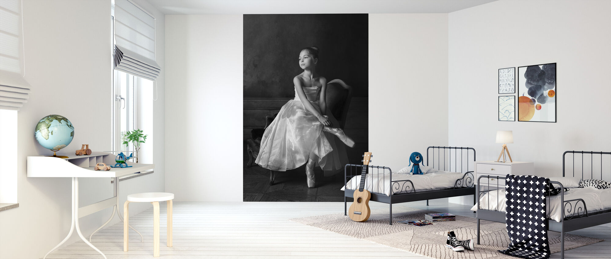 Little Ballet Star - Wallpaper - Kids Room