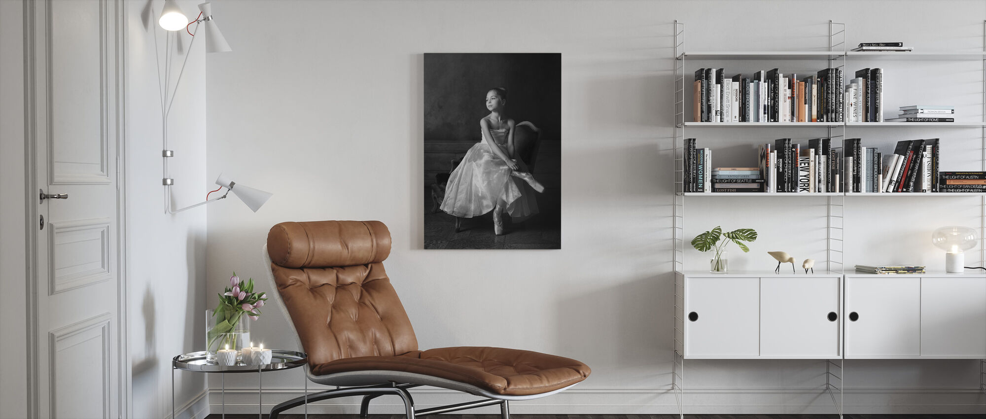 Little Ballet Star - Canvas print - Living Room