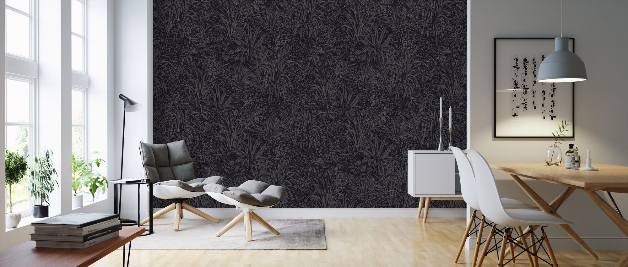 Jungle Panther - Wallpaper - Living Room