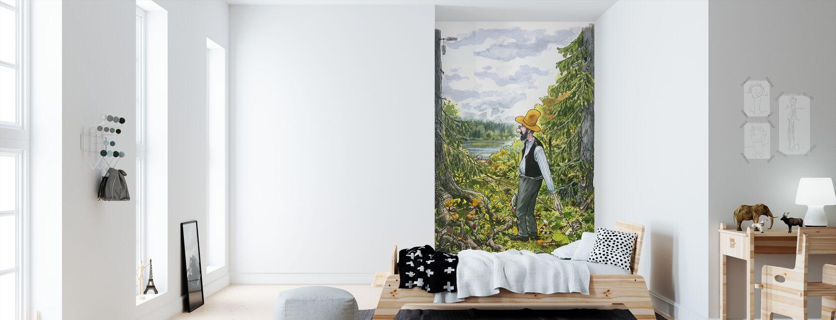 Pettson and Findus - Pettson Tents - Fishing Tour - Wallpaper - Kids Room