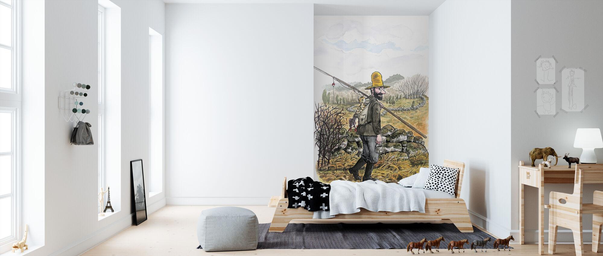 Pettson and Findus -Poor Pettson - Wallpaper - Kids Room