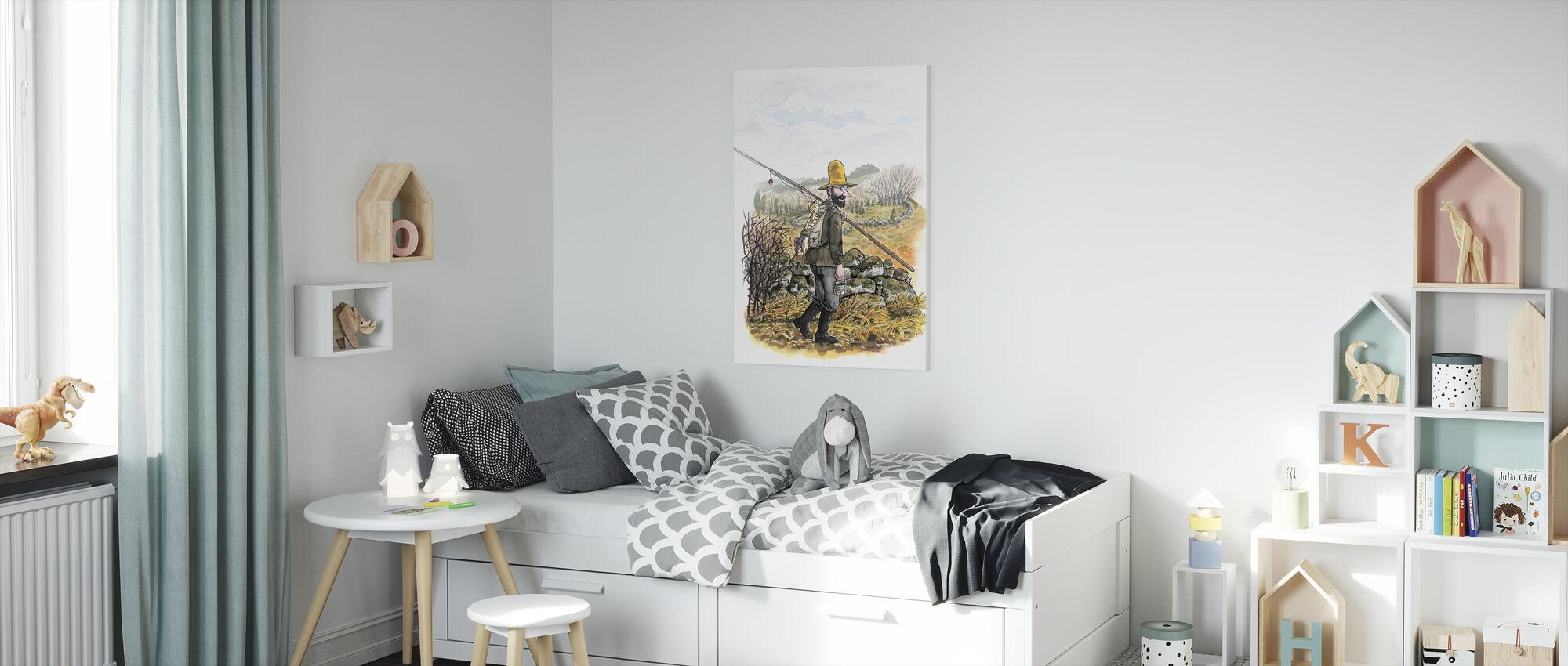 Pettson and Findus -Poor Pettson - Canvas print - Kids Room