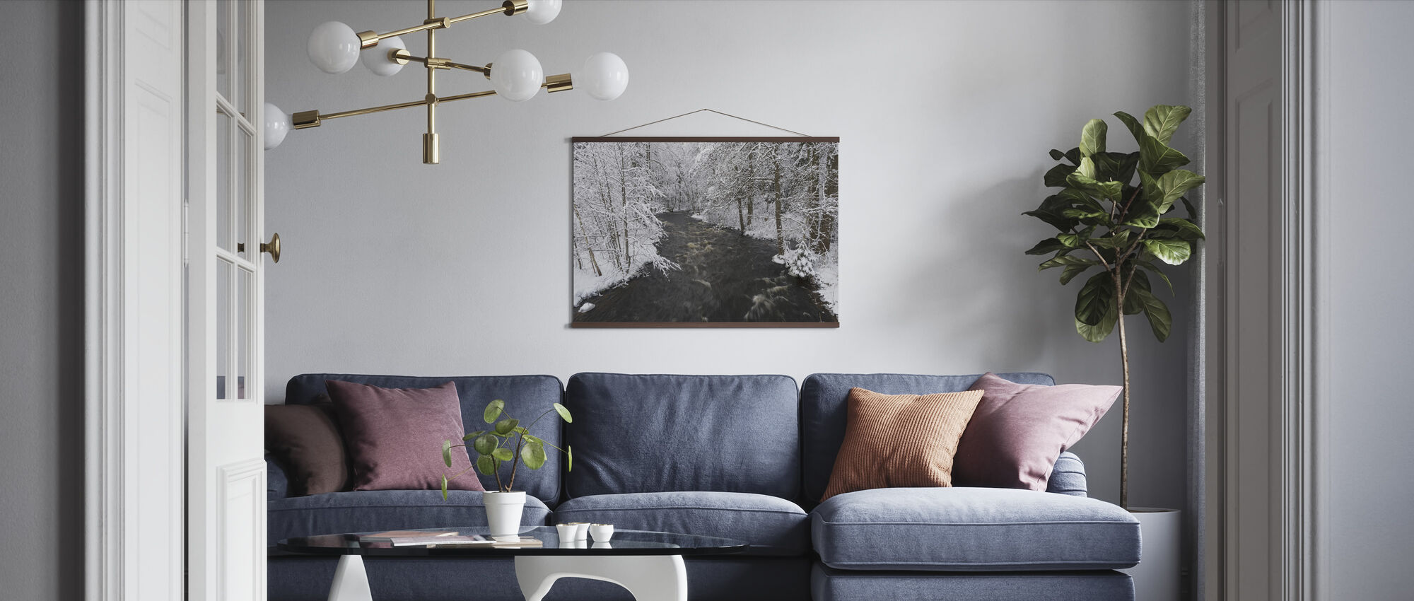 Riverbank - Poster - Living Room