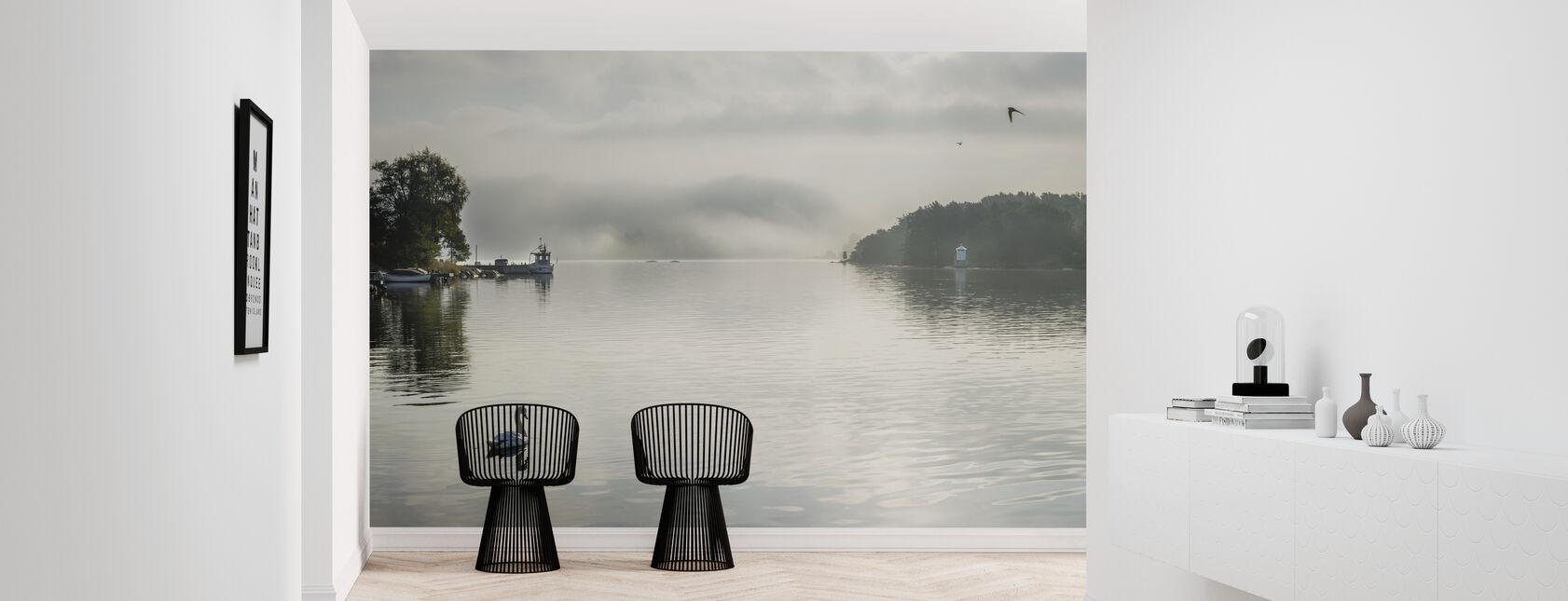 Mute Swan - Wallpaper - Hallway