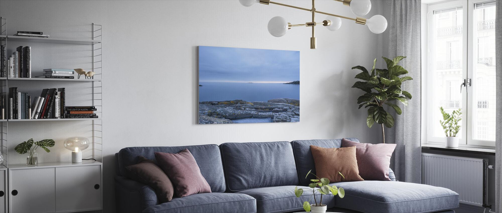 Femur - Canvas print - Living Room