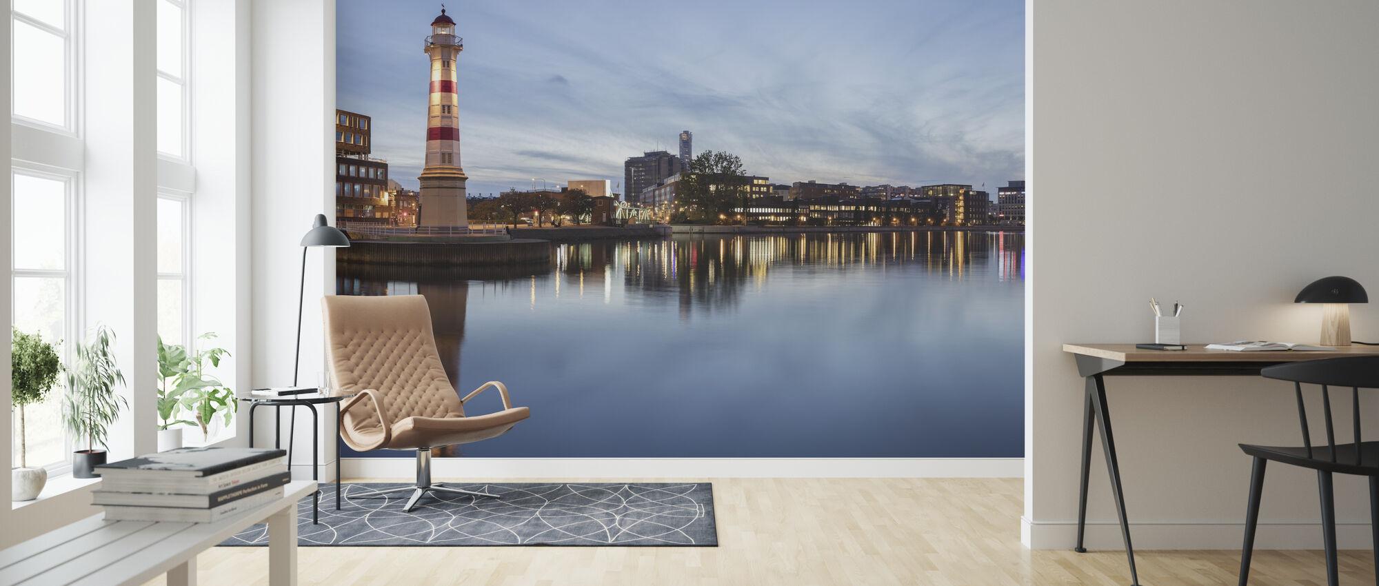 Lighthouse - Wallpaper - Living Room