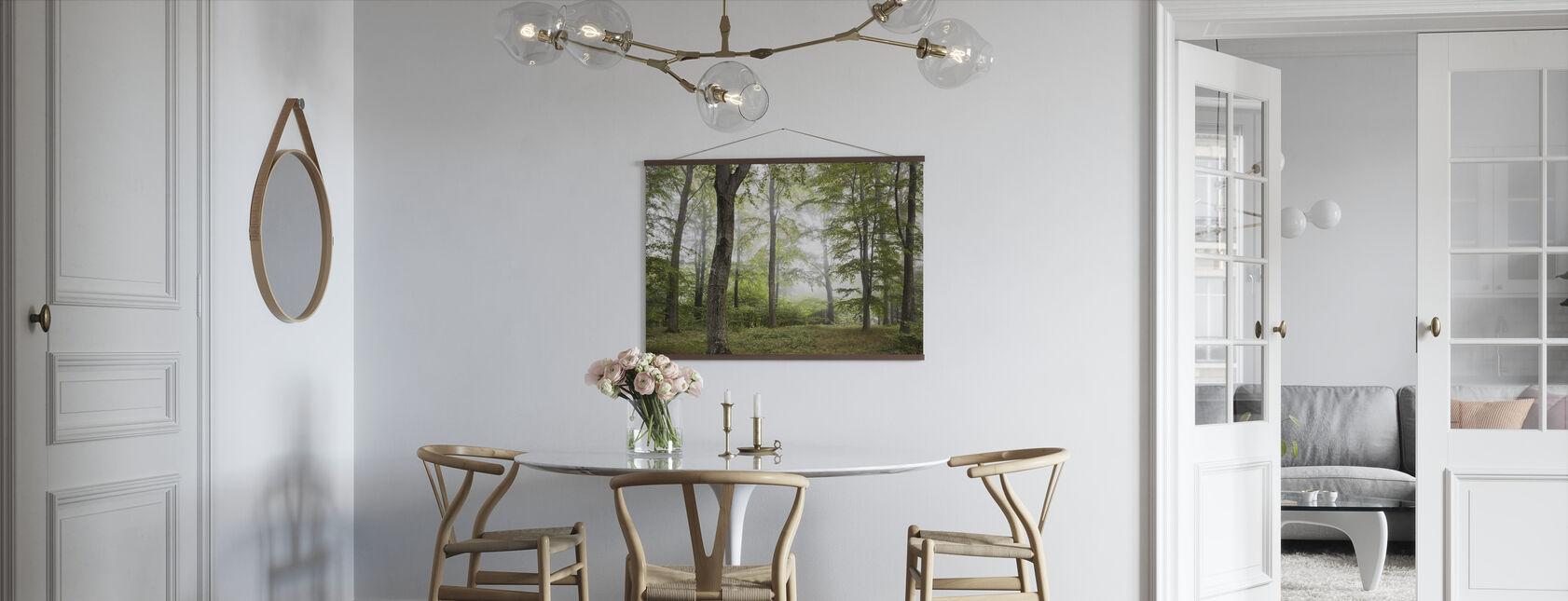 Forest Fog - Poster - Kitchen