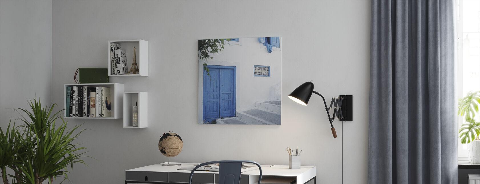 The Door - Canvas print - Office