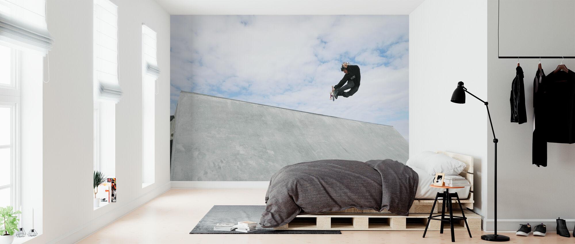 Skateboard utomhus - Tapet - Sovrum