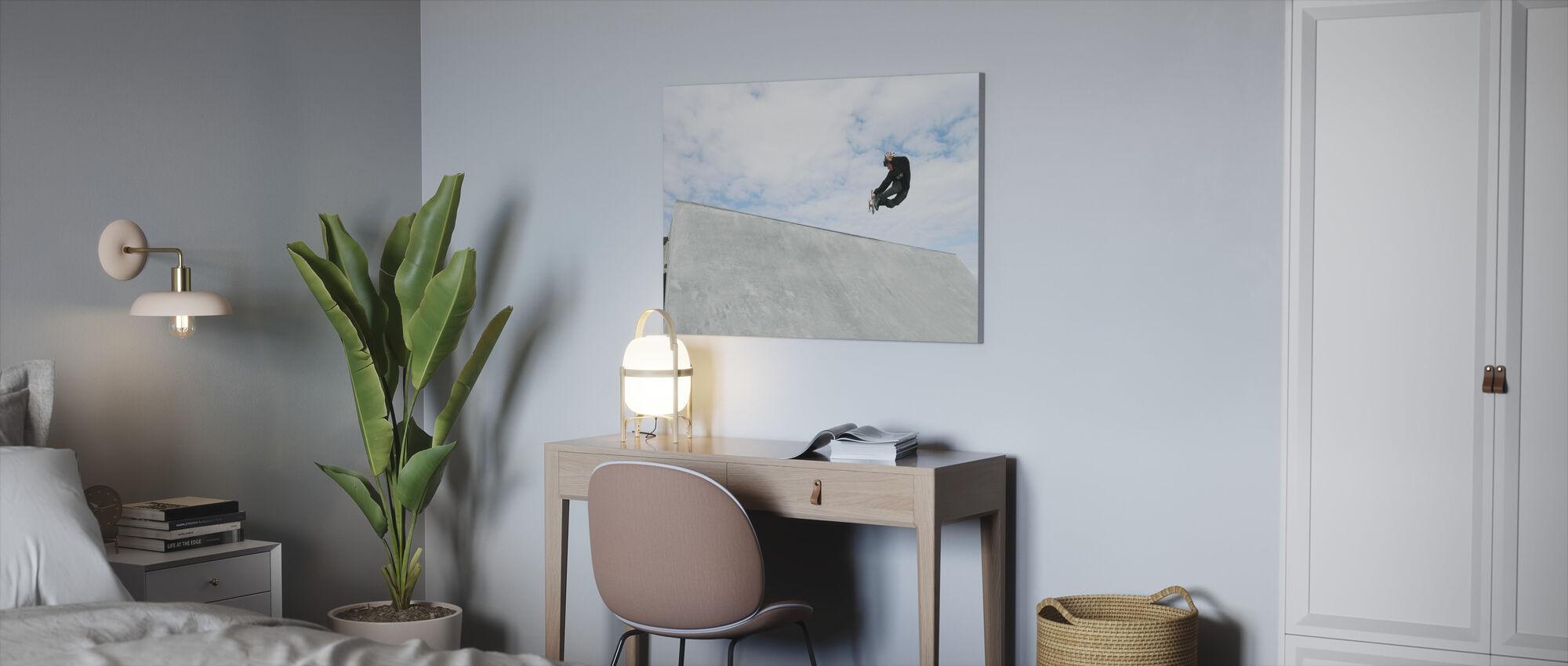Outdoor Skateboarding - Canvas print - Office