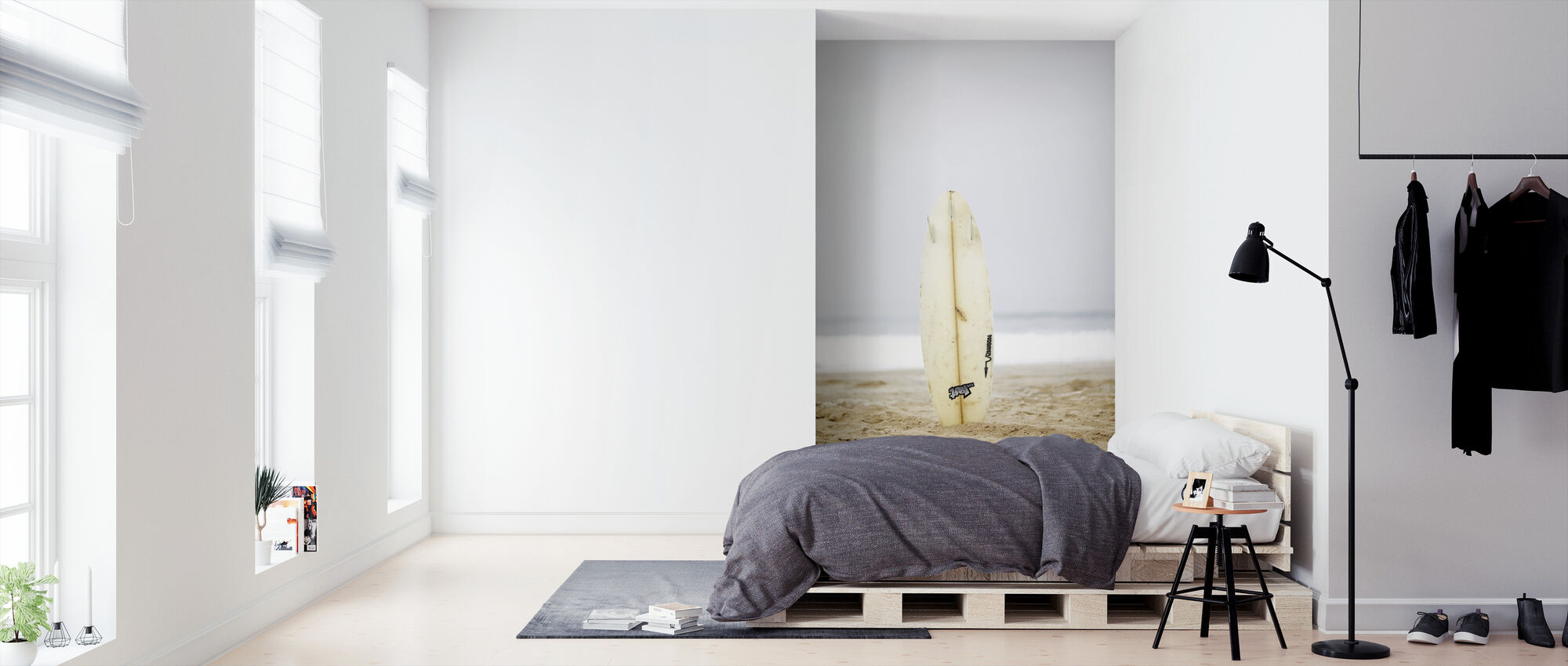 Surfboard - Wallpaper - Bedroom