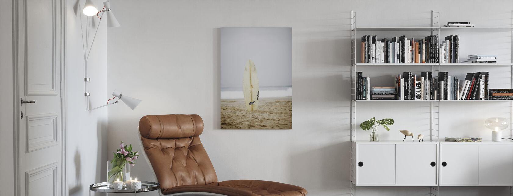 Surfbrett - Leinwandbild - Wohnzimmer