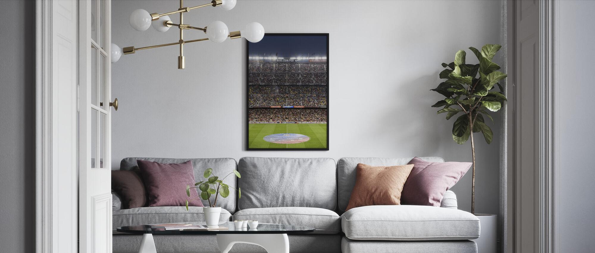 Soccer Stadium - Framed print - Living Room