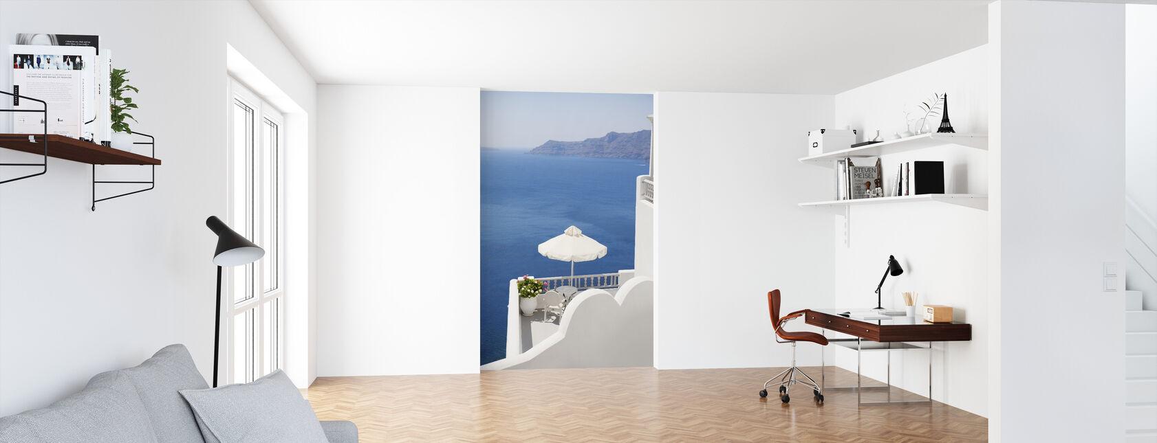 Santorini Sea - Tapetti - Toimisto