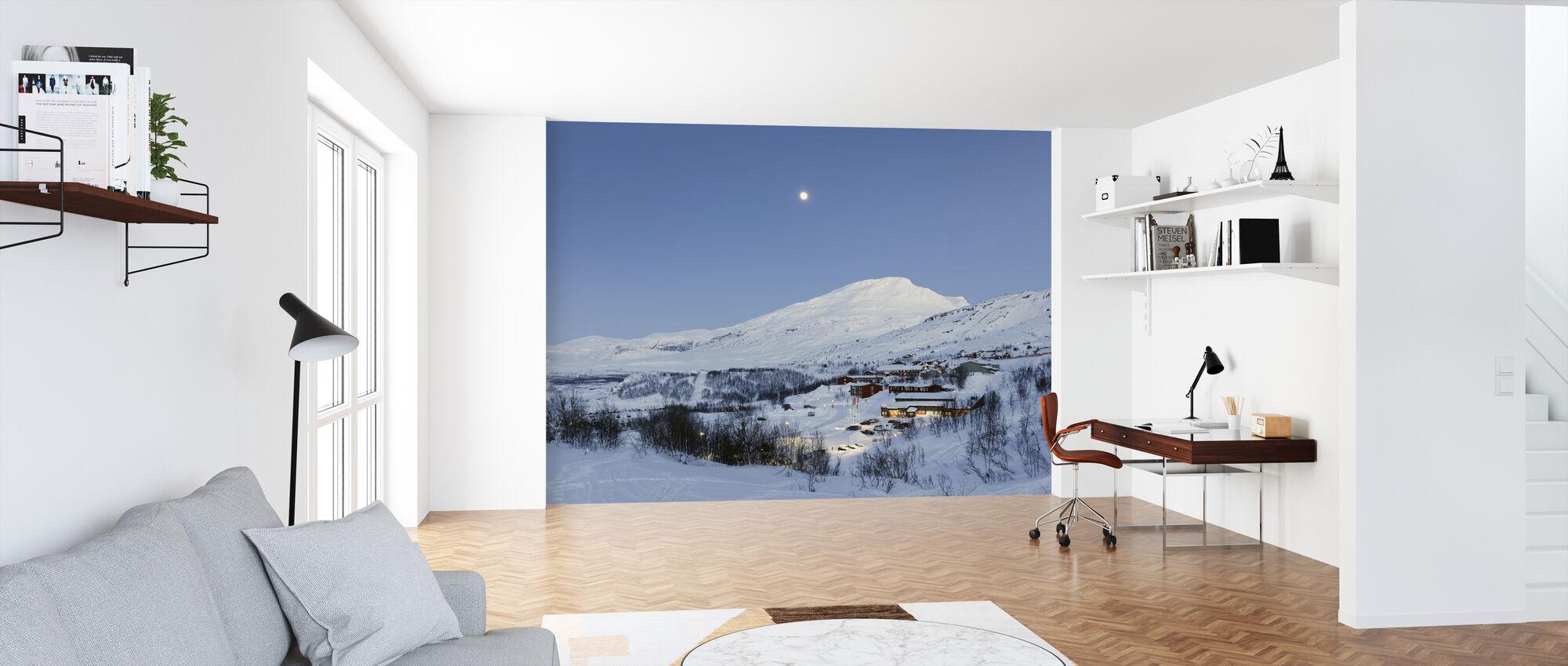 Lapland Mountain - Wallpaper - Office