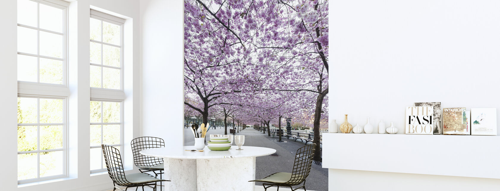 Kirsebær Treet Blossoms - Tapet - Kjøkken