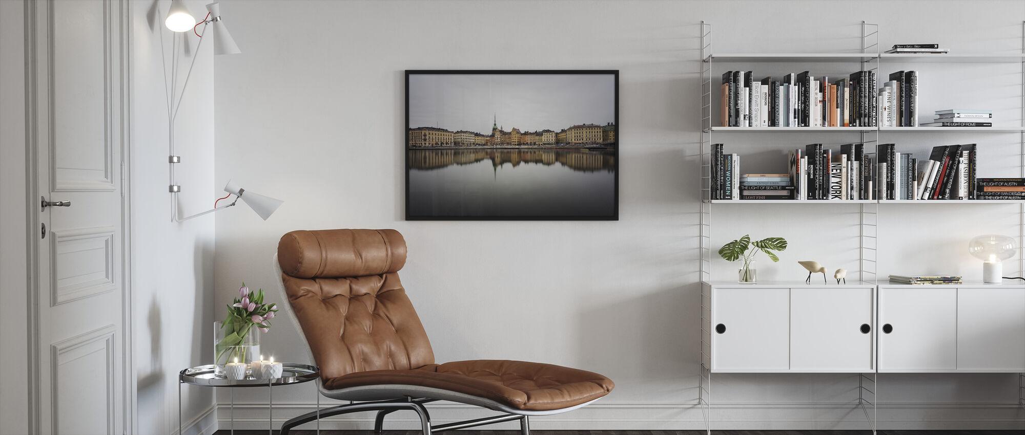 Old Town - Framed print - Living Room