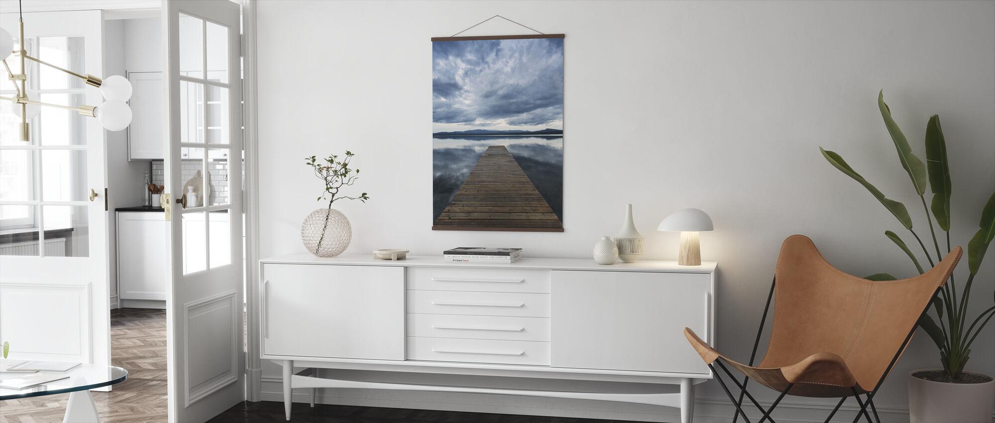 Pier Overcast - Poster - Living Room