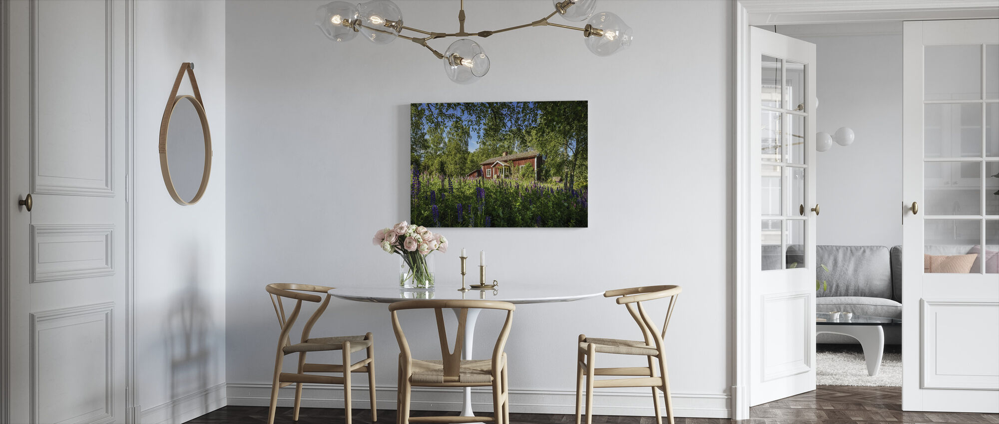 Lupin Cottage - Canvas print - Kitchen