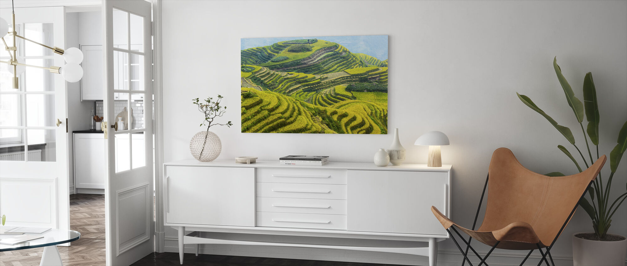 Guilin-velden - Canvas print - Woonkamer