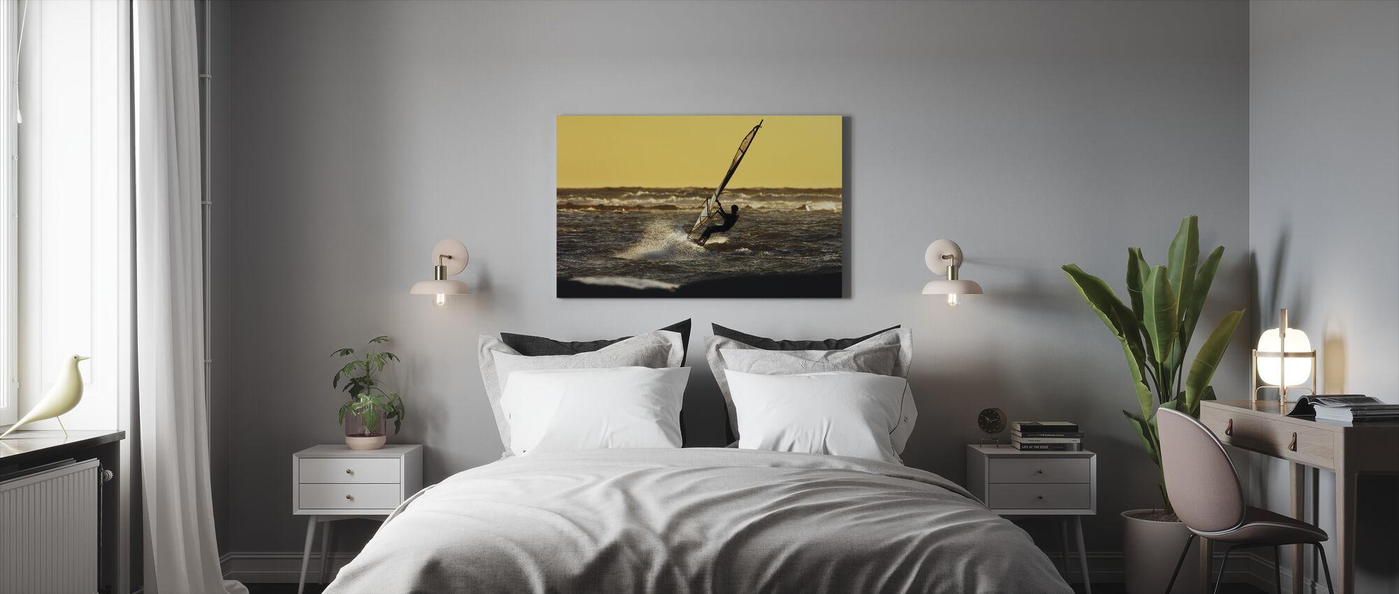 Windsurfen - Leinwandbild - Schlafzimmer