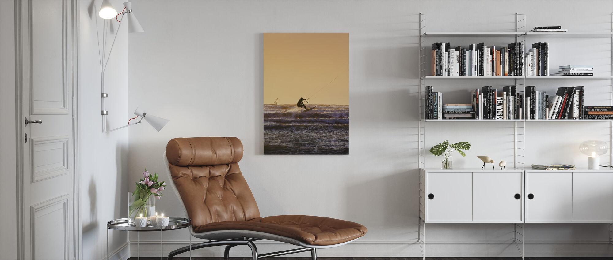 Halland Wind Surfing - Canvas print - Living Room