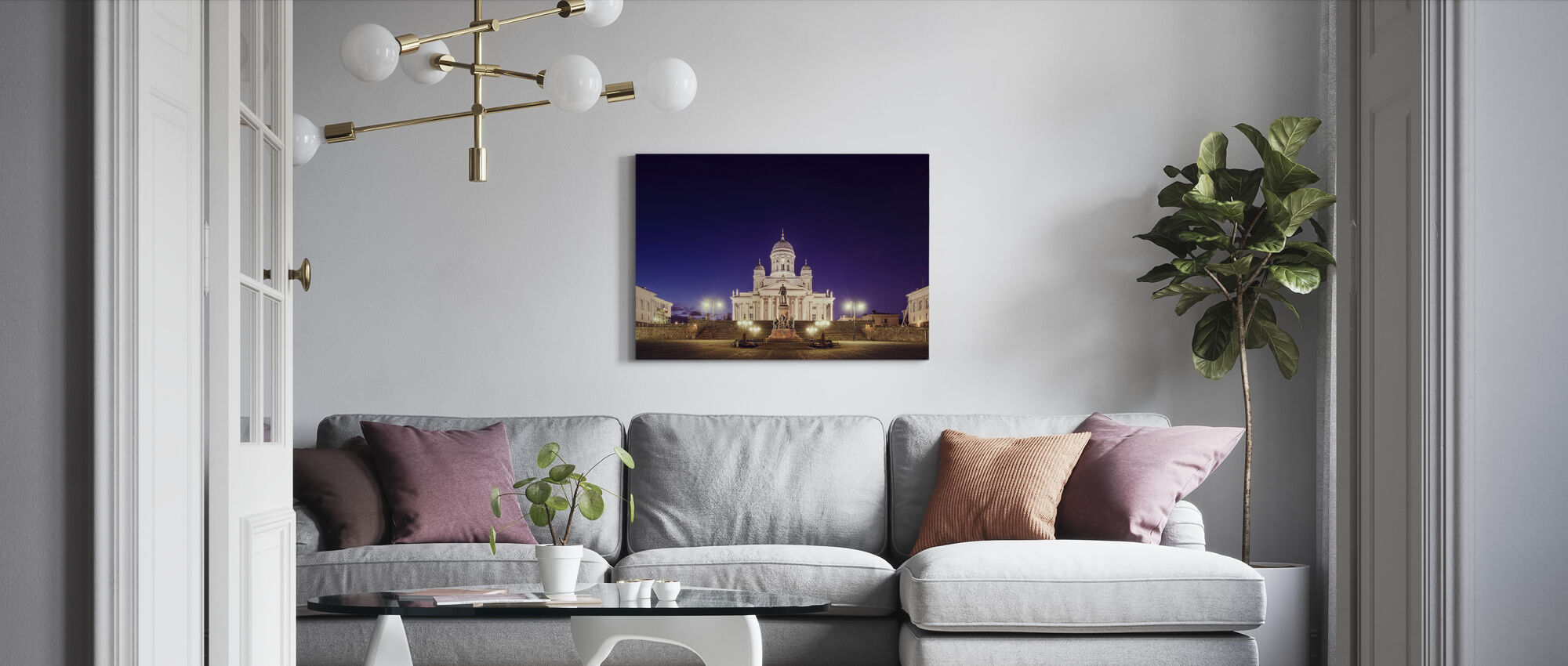 Cathedral - Canvas print - Living Room