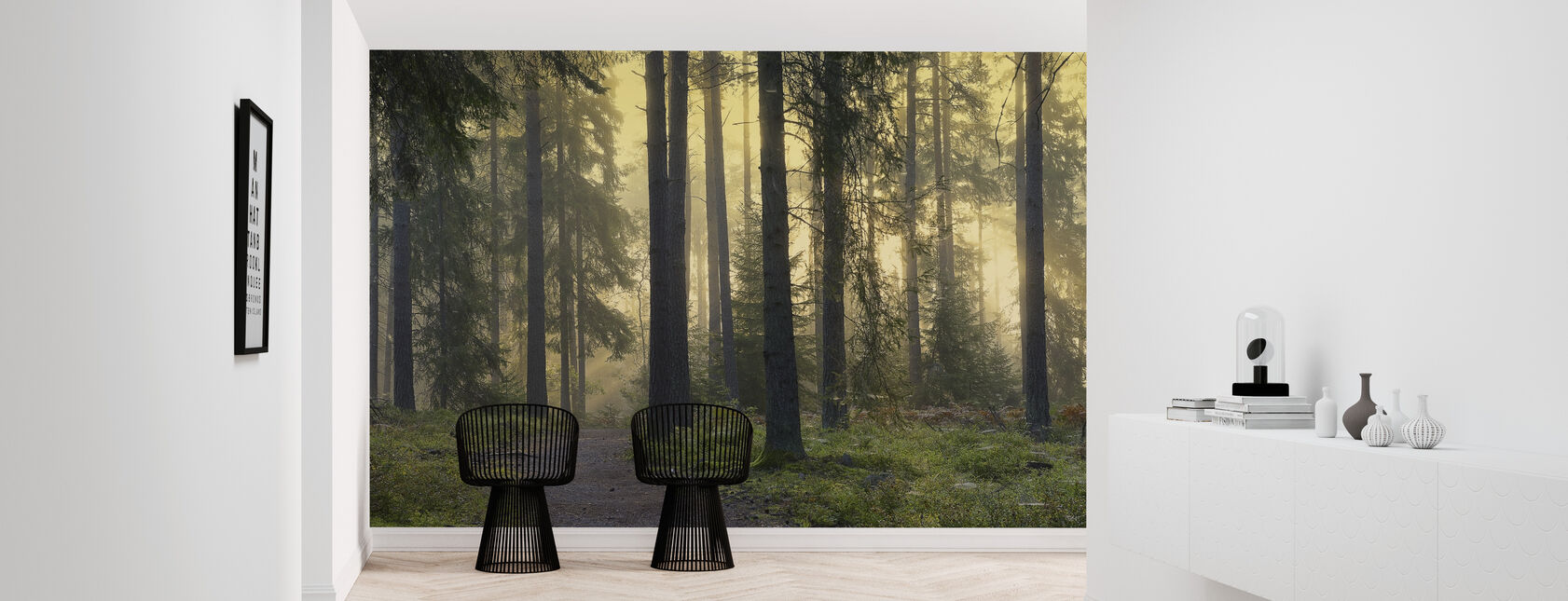 Sendero forestal - Papel pintado - Corredor