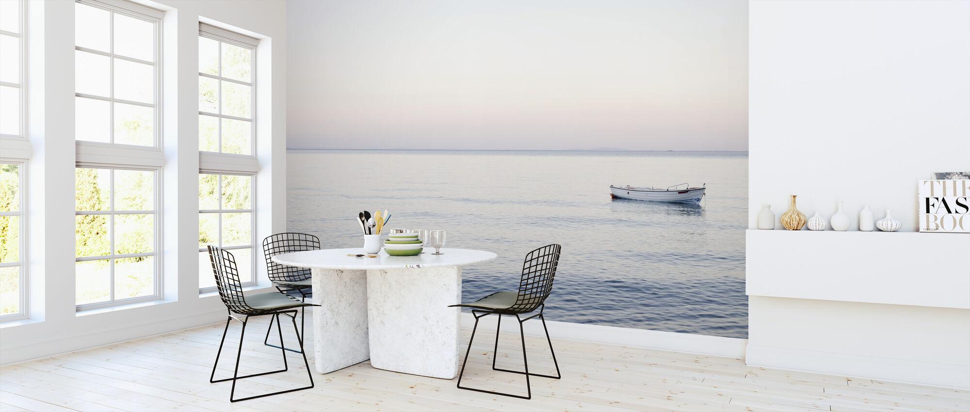 Boat and Sea - Wallpaper - Kitchen