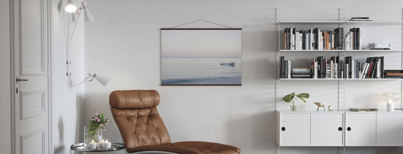 Boat and Sea - Poster - Living Room