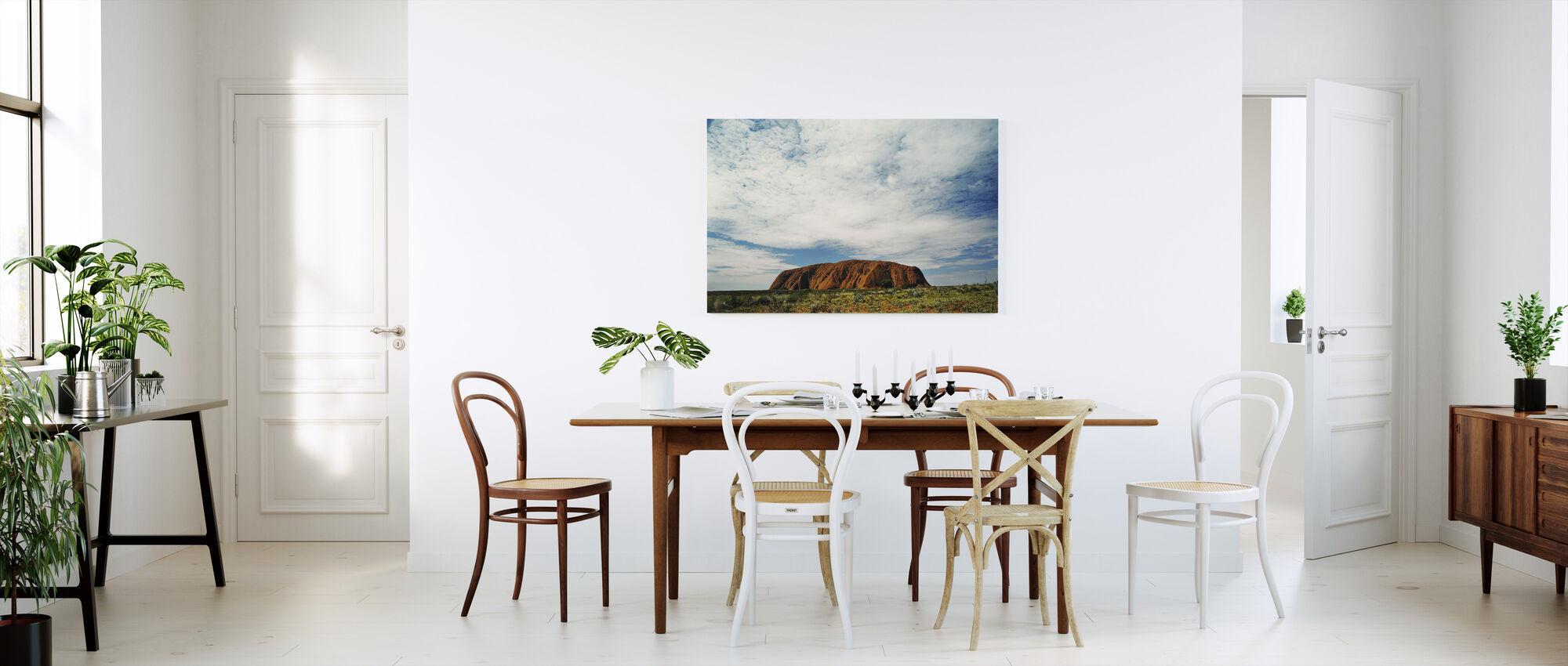 Ayers Rock - Canvas print - Keuken