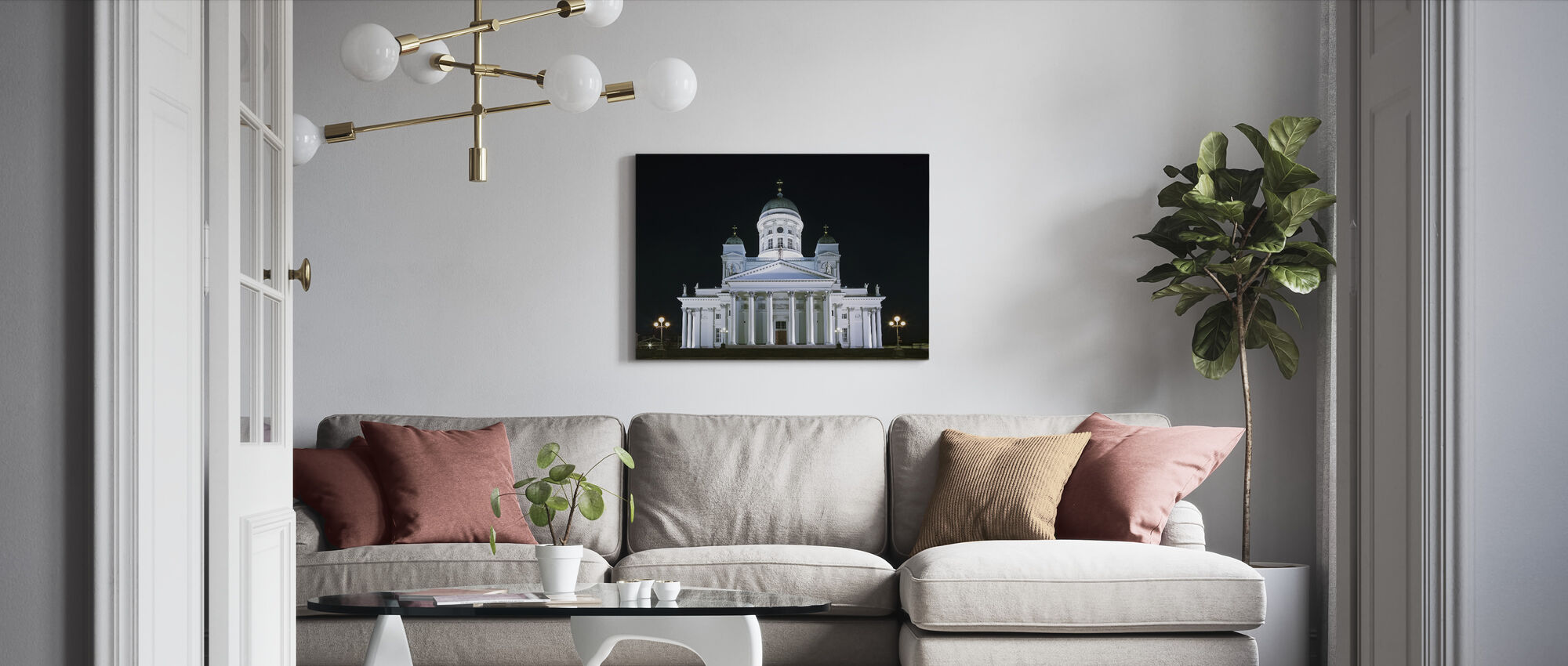 Cathedral Church - Canvas print - Living Room