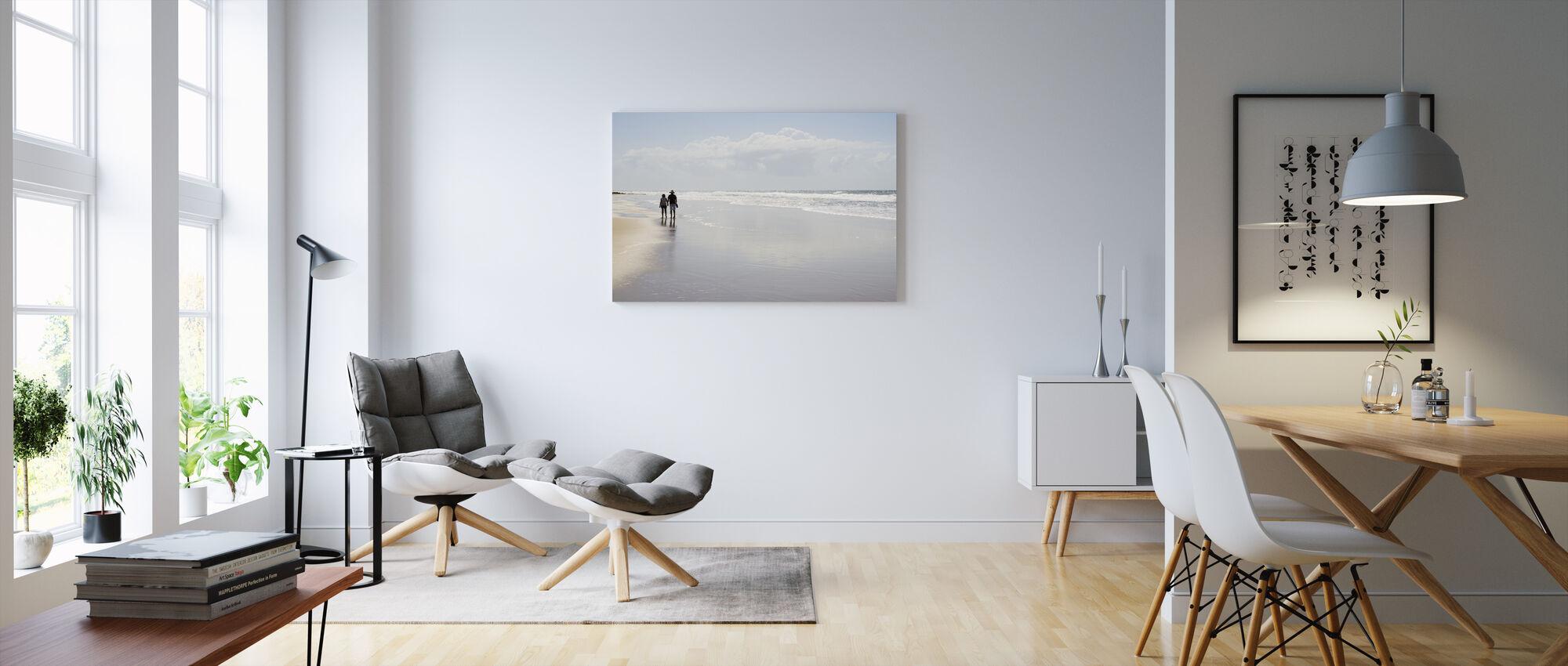 Sunshine Coast - Canvas print - Living Room