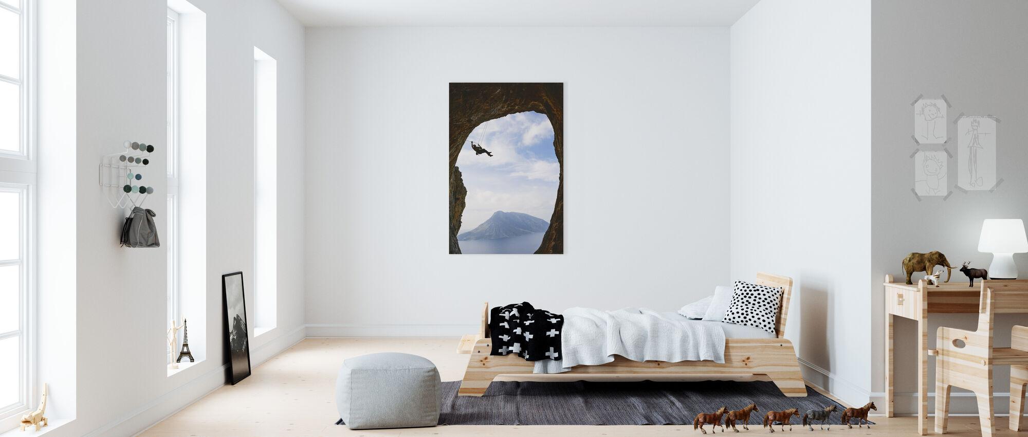 Mountain Climbing - Canvas print - Kids Room