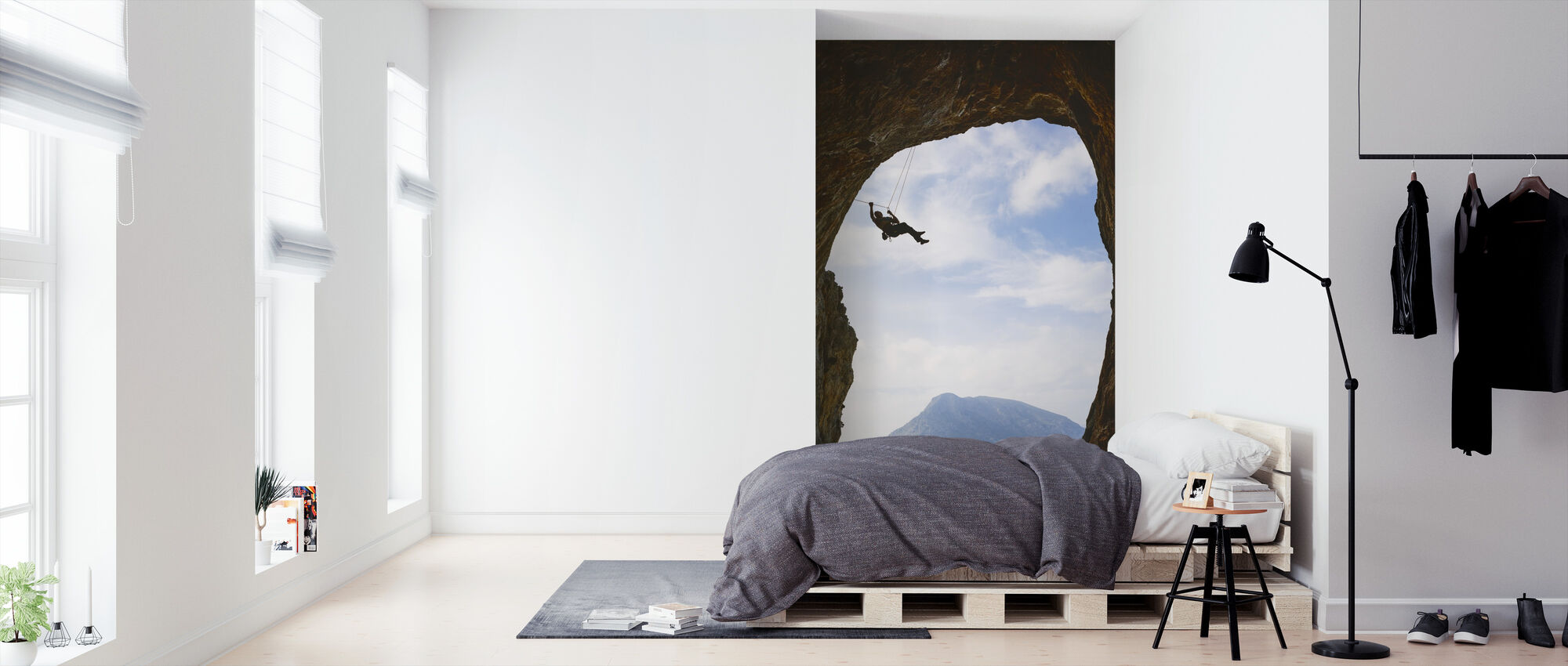 Mountain Climbing - Wallpaper - Bedroom