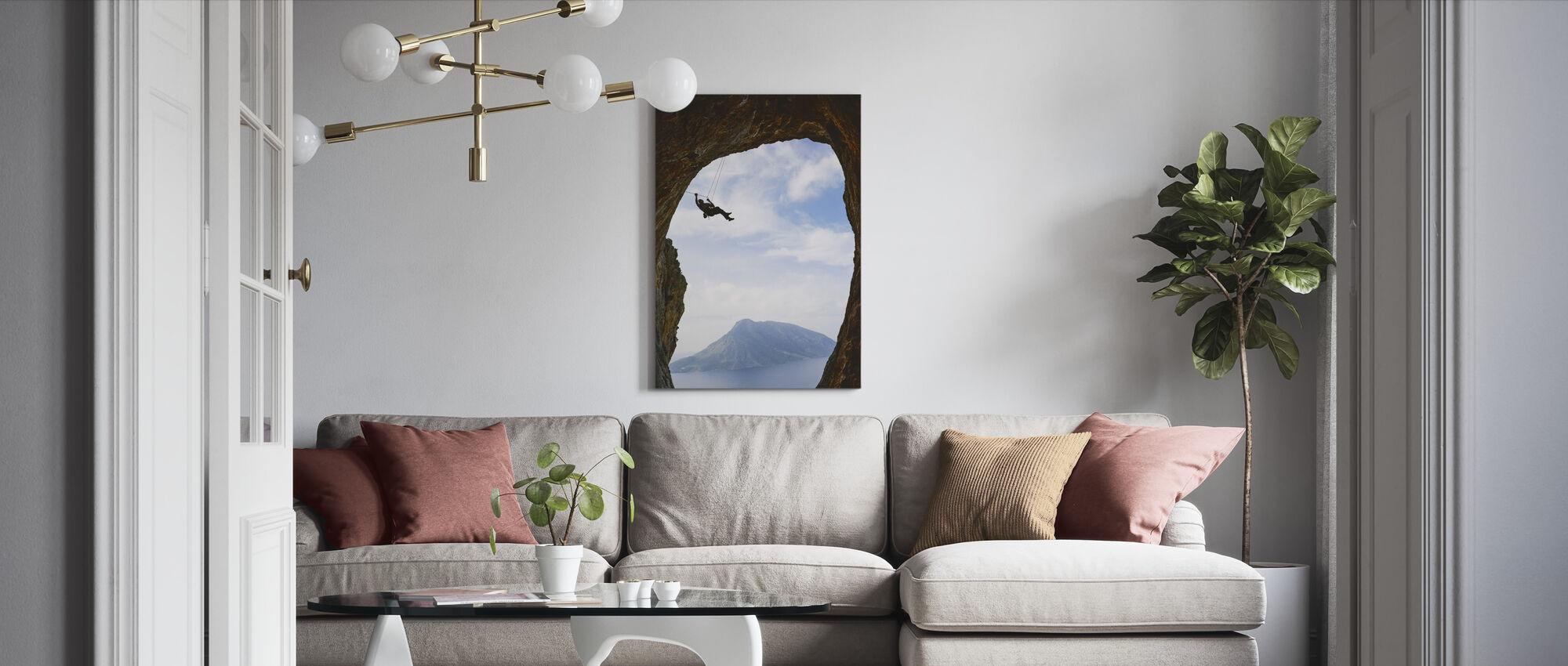 Vuorikiipeily - Canvastaulu - Olohuone