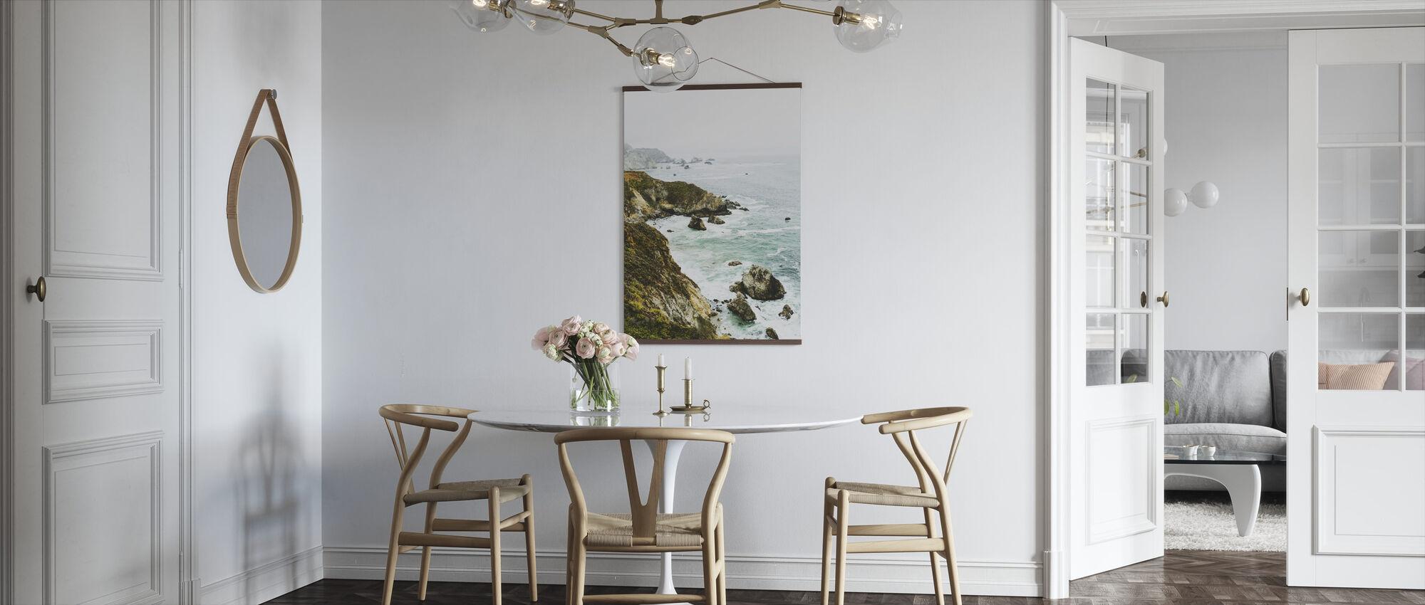 Rock Coastline - Poster - Kitchen