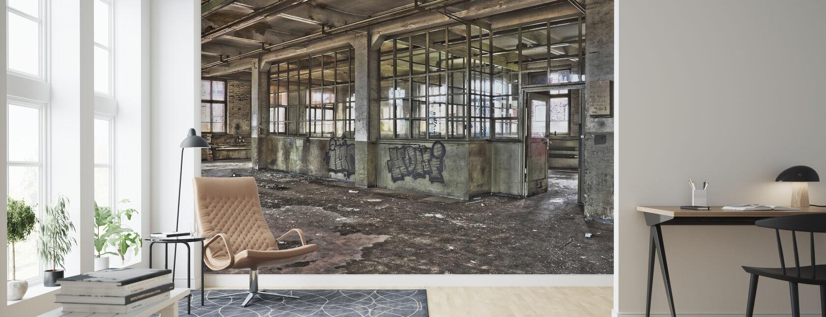 Vanha tehdas - Tapetti - Olohuone