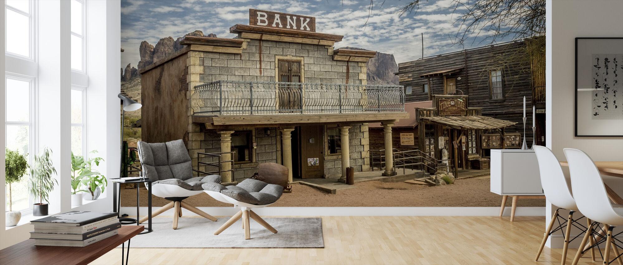 Arizona Vintage Bank - Wallpaper - Living Room