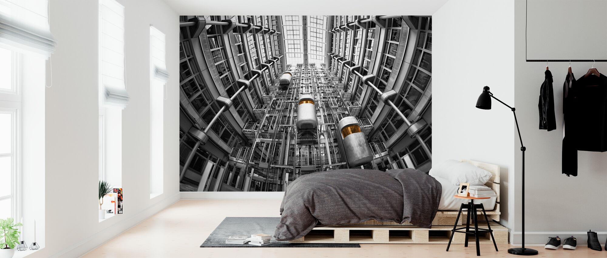 Lifts - Wallpaper - Bedroom