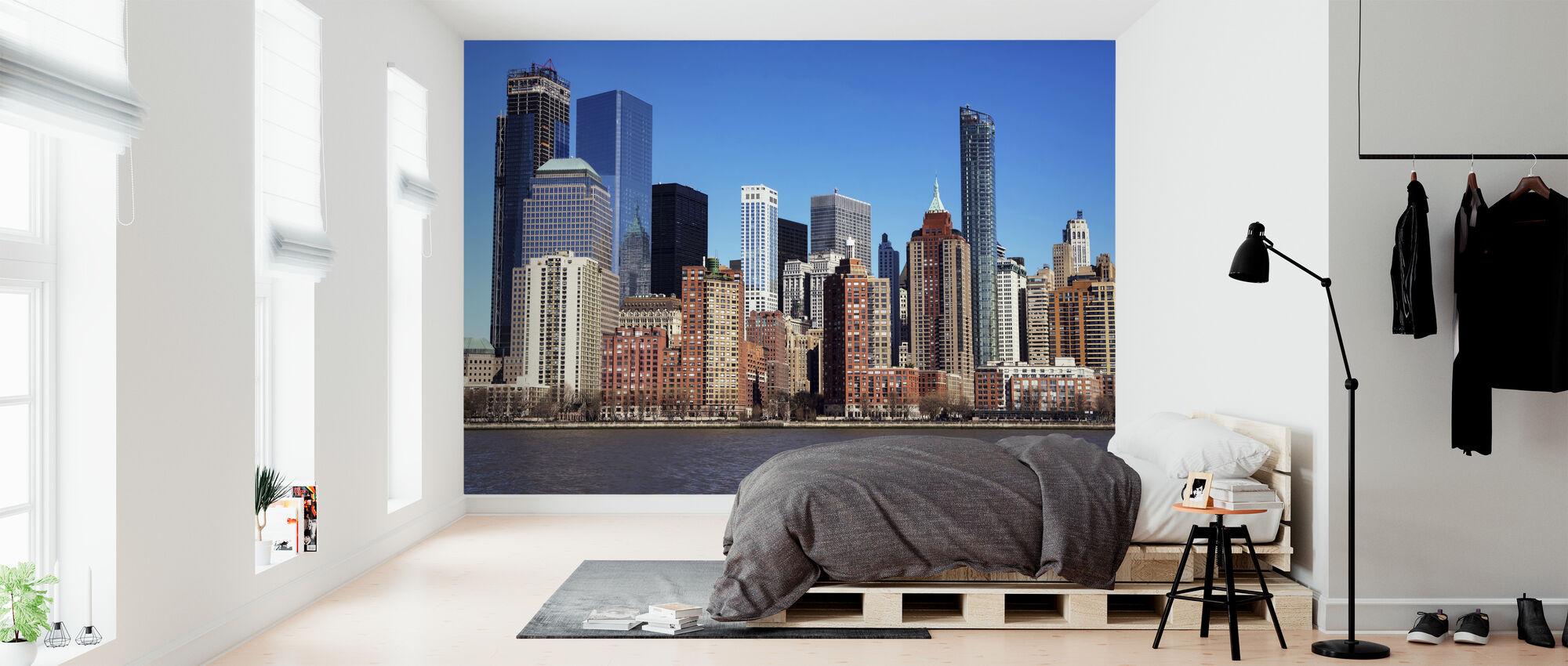 Manhattan Skyscraper - Wallpaper - Bedroom