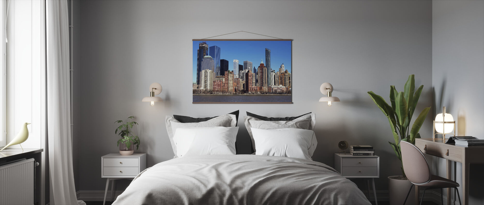 Manhattan Skyscraper - Poster - Bedroom