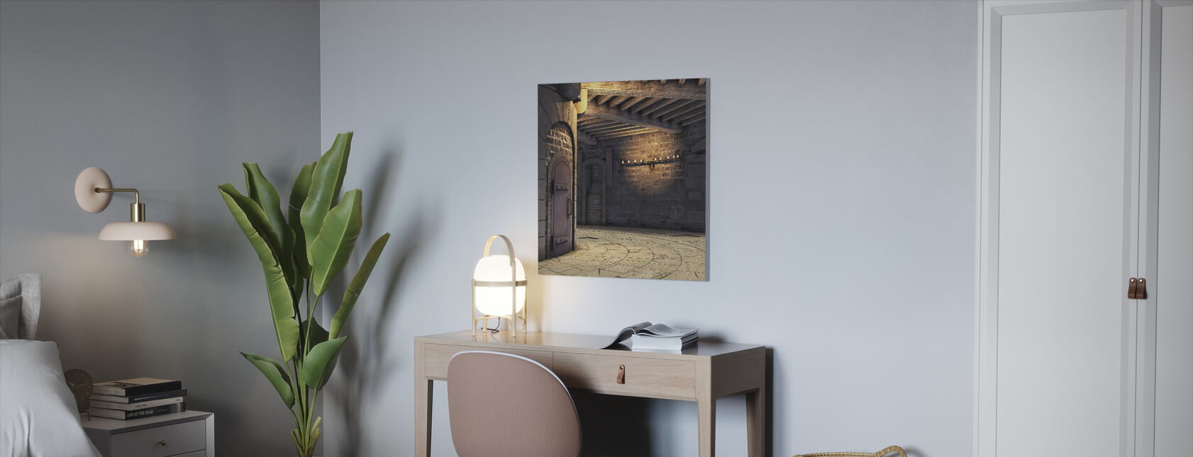 Toren Rotunda - Canvas print - Kantoor