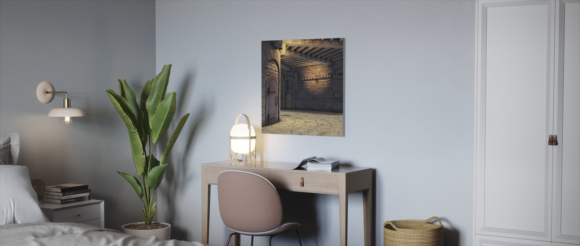 Tower Rotunda - Canvas print - Office