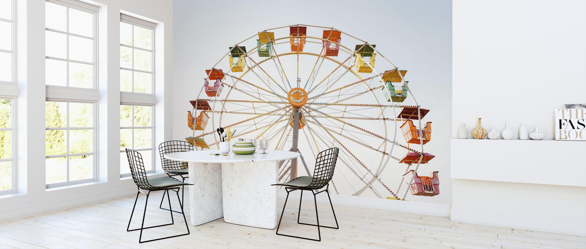 Forlystelsespark pariserhjul - Tapet - Kjøkken