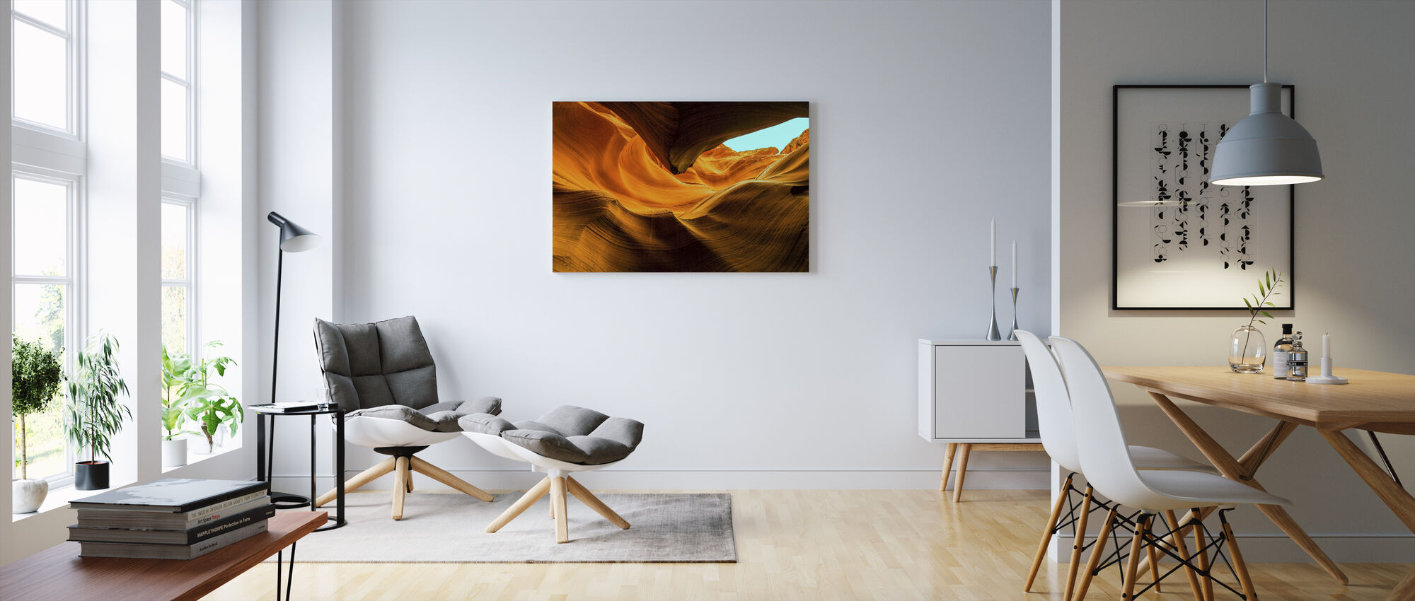 Arizona Canyon - Canvas print - Living Room