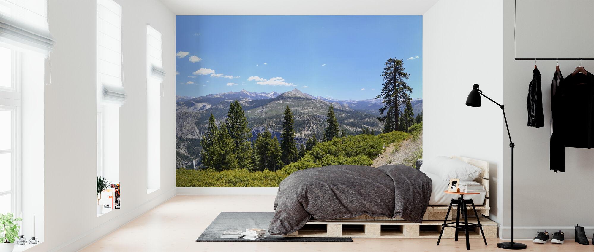 Nationaal park Yosemite - Behang - Slaapkamer